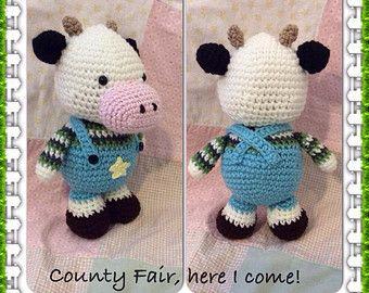 Knitting patterns for sale (used) - Toys, Barney Dinosaur crochet Pintere...