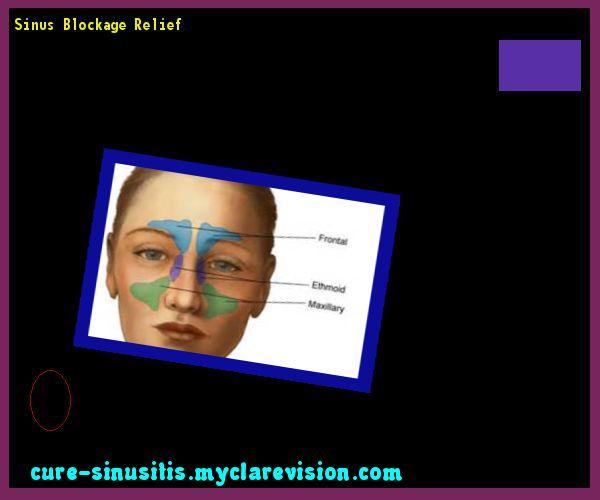 Sinus Blockage Relief 085846 - Cure Sinusitis