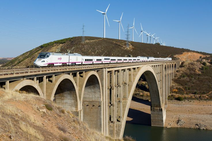 Wikipedia picture of the day on January 18 2017: Two RENFE class 730 Dual-mode Patito (duckling) crossing the Viaducto Martín Gil near Zamora Spain. http://ift.tt/2jWGrXZ
