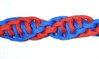 Double Spirals - http://www.free-macrame-patterns.com/learn-macrame.html