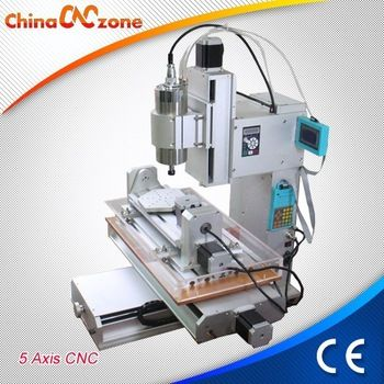 HY-3040 5 Axis Mini CNC Milling Machine for Sale