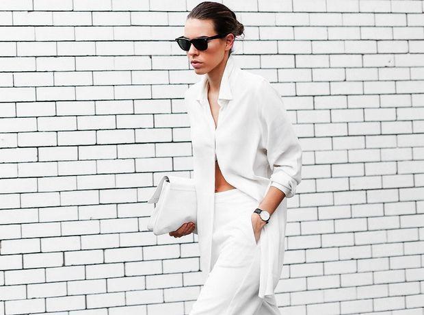 Λευκά παντελόνια, μία αναμφίβολα σέξι επιλογή - Style | Ladylike.gr
