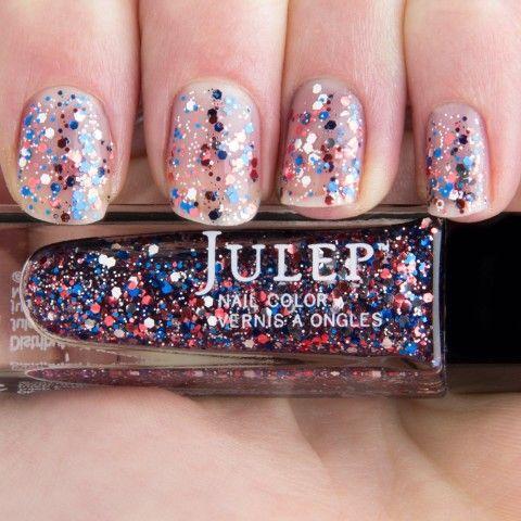 Fireworks nail polish