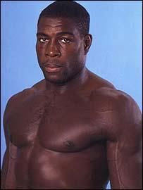 Frank Bruno, boxer, born in London, won the WBC Heavyweight championship in 1995