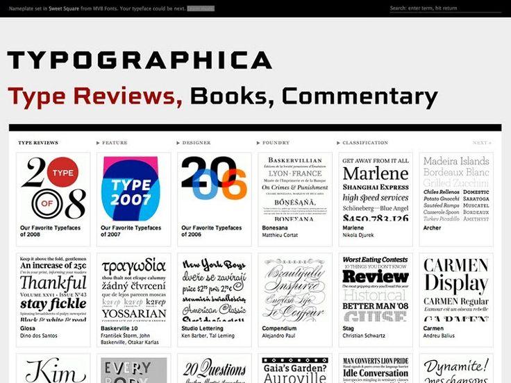 Páginas de inspiración tipográfica qué vas a necesitar durante tu carrera de diseño gráfico