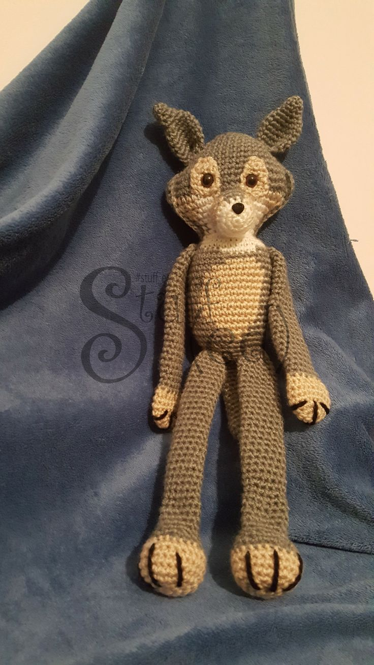 Model 2 - Long legs  Wolf Dog customized to a friend