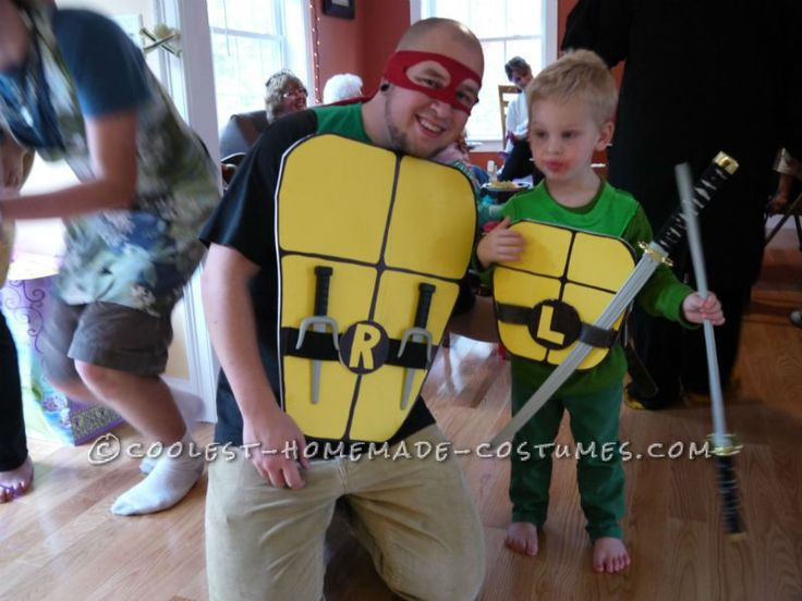 Coolest Daddy and Son Ninja Turtle Costumes  sc 1 st  Pinterest & 19 best halloween costume ideas... family themes images on Pinterest ...