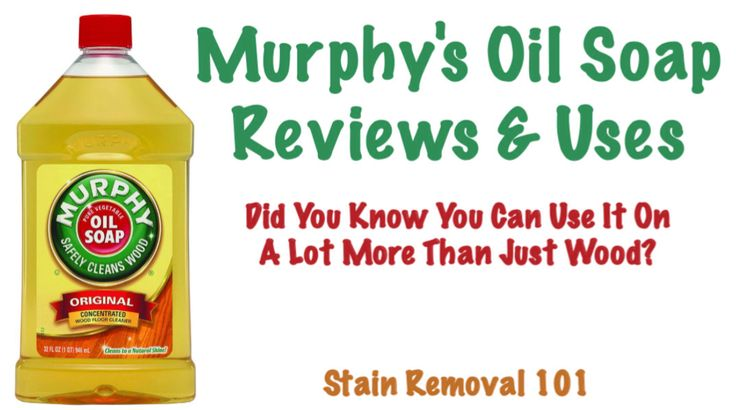 Can You Wash Your Car With Murphy S Oil Soap