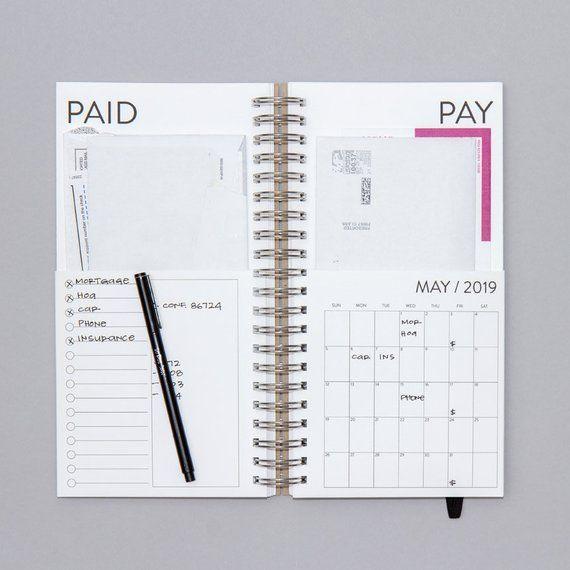 2020 Planer Tischkalender wöchentlicher Planer Monatlicher To Do Listenkalender