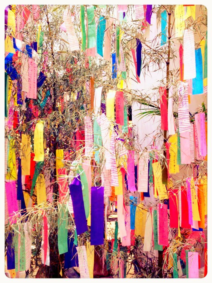 七夕、Tanabata Festival. Time to wish upon the stars☆