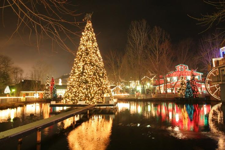 We spent a week in Tennessee for Christmas one year and a visit to  Dollywood was included. Best Christmas trip ever!