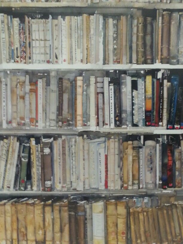 Library.. Lars Lerin
