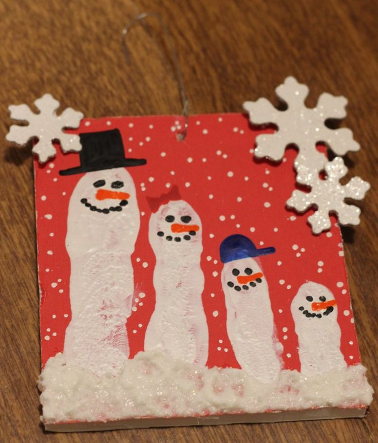Best 25+ Family Fingerprint Ornament Ideas On Pinterest