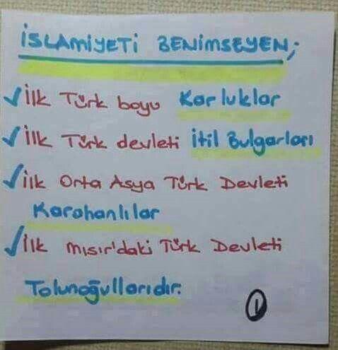 Turk islam tarihi