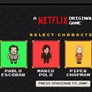 Netflix crea juego online con sus principales personajes  Las series en Netflix son todo un éxito en todo el mundo, y sus protagonistas han llegado a la fama rápidamente: las chicas de la prisión de Orange is the New Black, Mike Wheeler, de Stranger Things, Pablo Escobar, de Narcos, Marco Polo… Netflix quiere que los tengamos presentes el mayor tiempo…