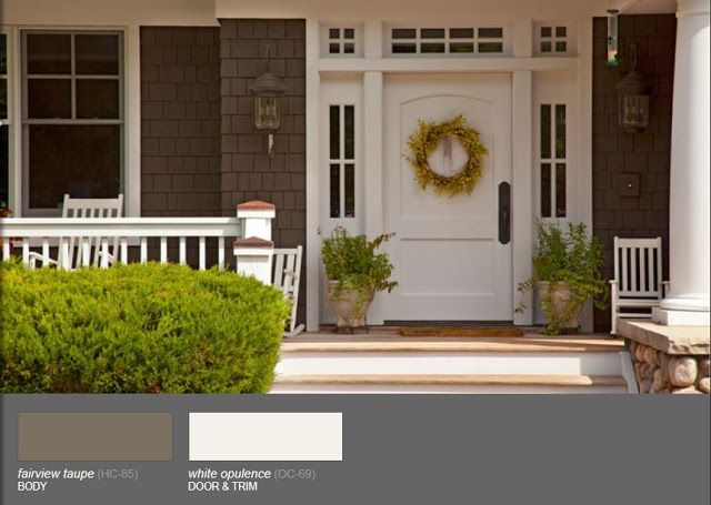 17 images about house colors on pinterest house paint exterior pewter and exterior colors Benjamin moore taupe exterior