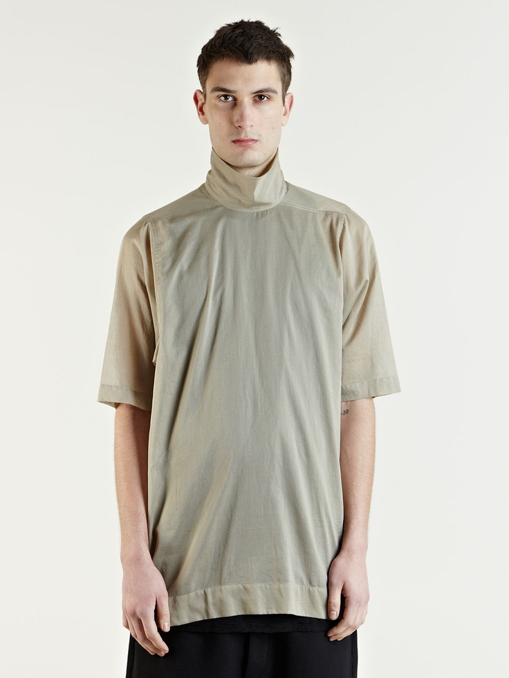 High Neck Top - Rick Owens