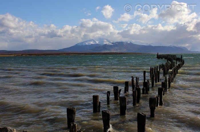 Wharf Remnants - Puerto Natales