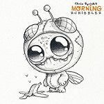 Fruit fly!  :banana::grapes::tangerine: #morningscribbles von CHRIS RYNIAK