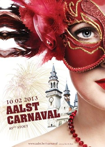 Aalst viert carnaval op 10 februari 2013