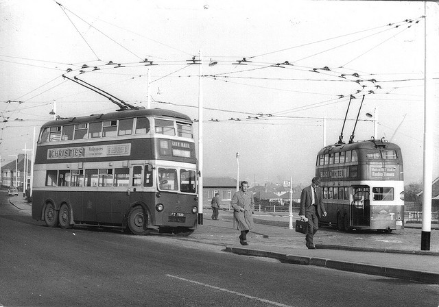 Leeds and Bradford were the first cities in the UK to introduce trolleybuses, in 1911. Phased out in the late '20s, a new trolleybus scheme will be completed by 2018