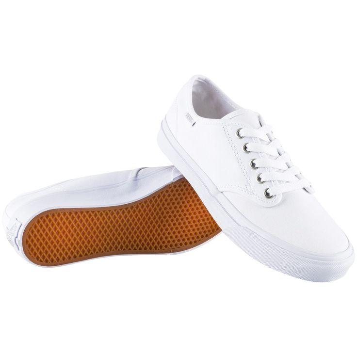 Valkoinen Vans Camden Stripe W, naisten vapaa-ajan kengät - Naisten vapaa-ajan kengät - xxl.fi