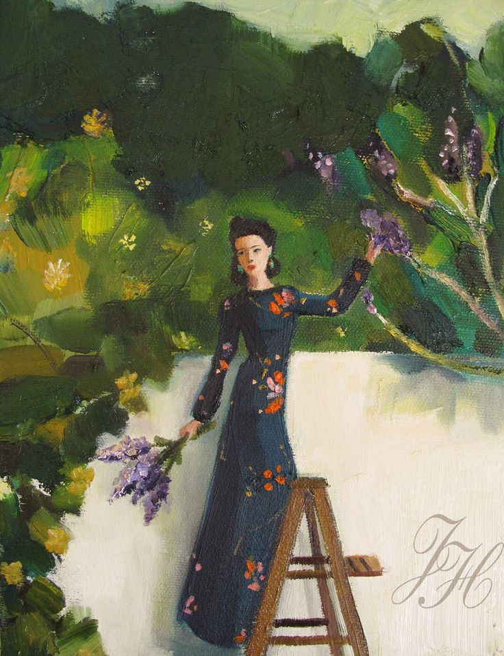 The Lilac Thief by Janet Hill