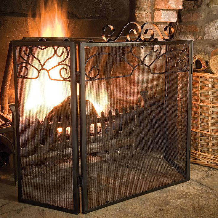 9 Best Light Your Fire With Fireplace Accessories Images On Pinterest Fireplace Screens