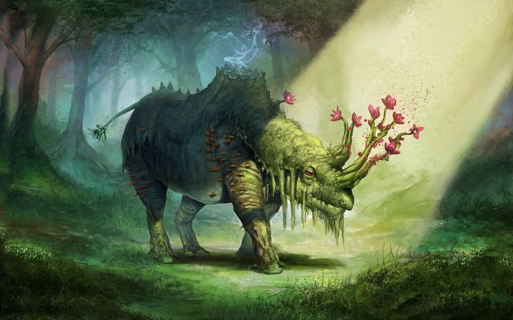 Magical forest, Legendary creature and Forests on Pinterest