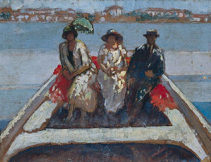 Τριανταφυλλίδης Θεόφραστος-Βαρκάδα, 1920-1925