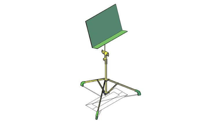 Free Download piano note stand dwg file Cadbull in 2020