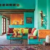 photo of colorful mexican home interior - Yahoo Search Results