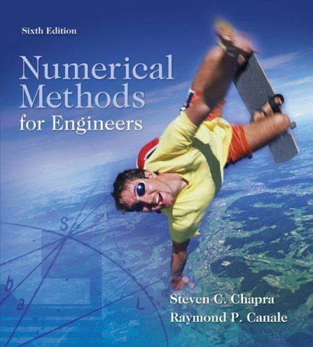 I'm selling Numerical Methods for Engineers, Sixth Edition by Steven Chapra and Raymond Canale - $20.00 #onselz