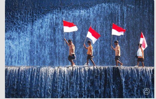 Aku bangga menjadi anak Indonesia