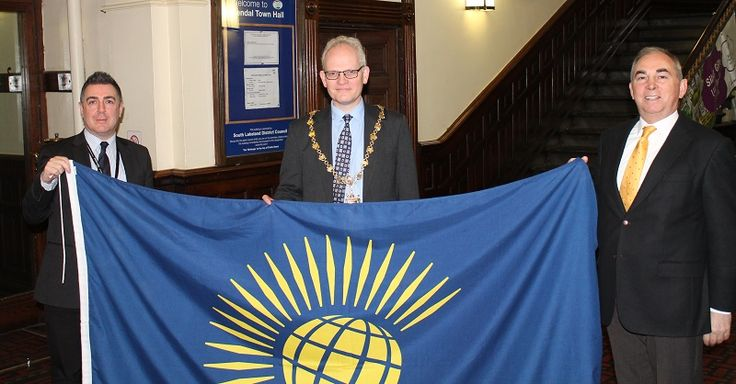 South Lakeland flies flag for the Commonwealth http://www.cumbriacrack.com/wp-content/uploads/2017/03/Commonwealth-flag.jpg South Lakeland raised the flag to mark Commonwealth Day on Monday, 13 March, 2017. The Commonwealth Flag was raised at Kendal Town Hall at exactly 10am    http://www.cumbriacrack.com/2017/03/16/south-lakeland-flies-flag-commonwealth/