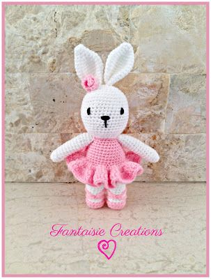 Fantaisie Creations: Rabbit ballerina