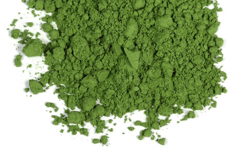 Only the finest, young, shade-grown gyokuro tea leaves are used to create matcha. The leaves are plucked and laid out flat to dry. Veins are removed and the leaves, now called tencha, are carefully ground in granite mills until they become the precious powder. Only $12