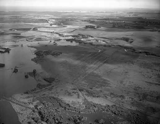 1951 Flooding of the Powlett River. VicRoads Centenary 1913-2013.