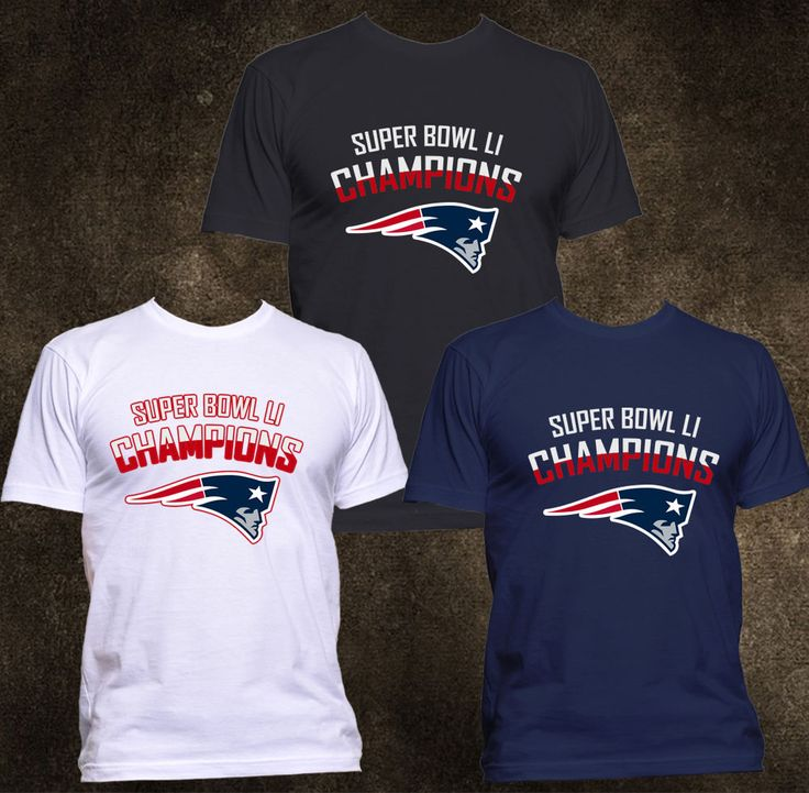 NEW England Patriots Super Bowl LI 51 Champions Football America T-Shirt S-3XL #Gildanorother #GraphicTee
