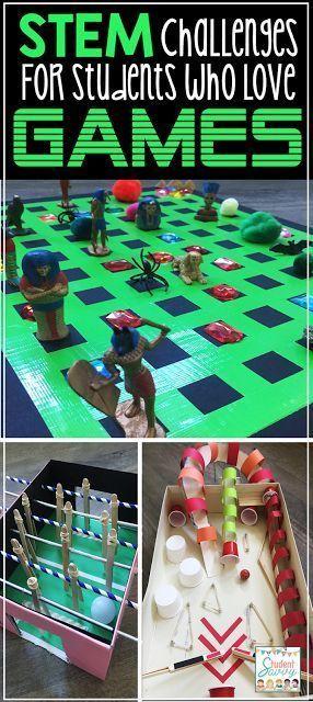 Gamer STEM Challenges!