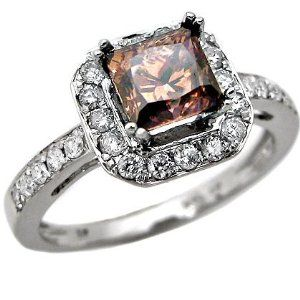 I like the chocolate diamond vintage rings