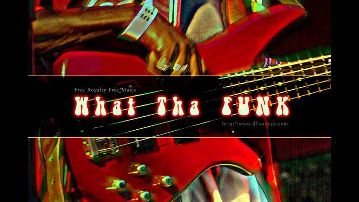 Free Royalty Free Funk Music   What Tha Funk   Brass & Slap bass music