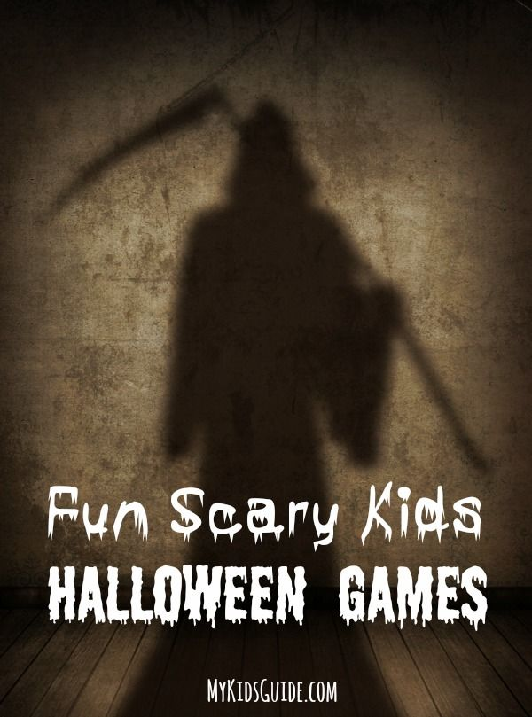 Be the hit of the block party with this great list of Fun Scary Kids Halloween Games! A mix of games with varying degrees of fright!