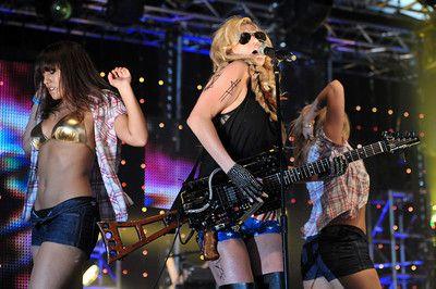 Ke$ha's The Big Weekend Radio 1 performance staged by Natricia Bernard.