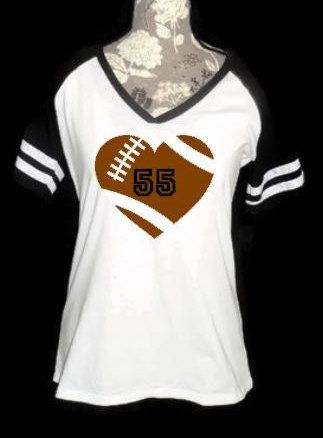 45 best i want one images on pinterest football moms for Single order custom t shirts