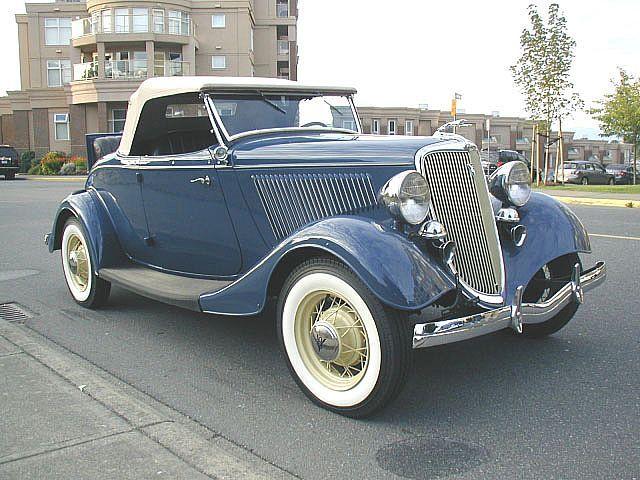 1934 Ford V8 Roadster