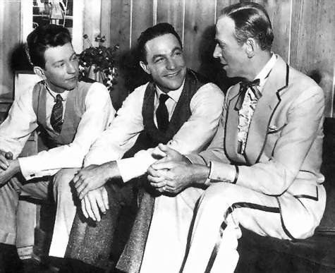 Donald O'Connor, Gene Kelly and Fred Astaire. The three best dancers in the world. Ever.
