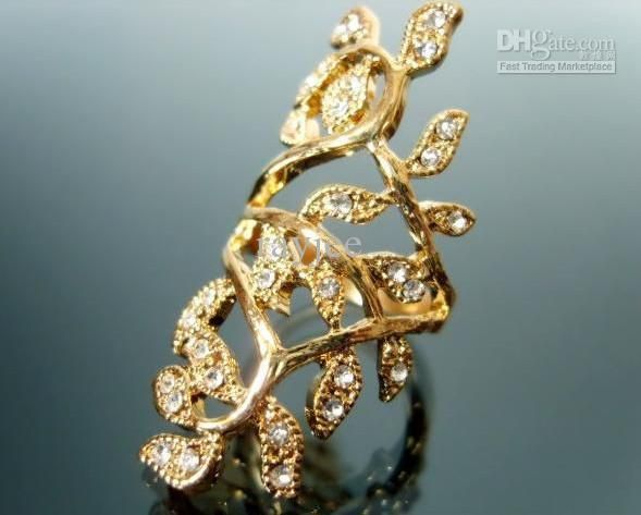 Cheap Gold Ring - Wholesale Gold Ring Alloy Crystal Diamond Ring Jewellery Online with $1.05/Piece | DHgate