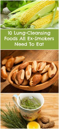 Best Foods For Ex Smokers