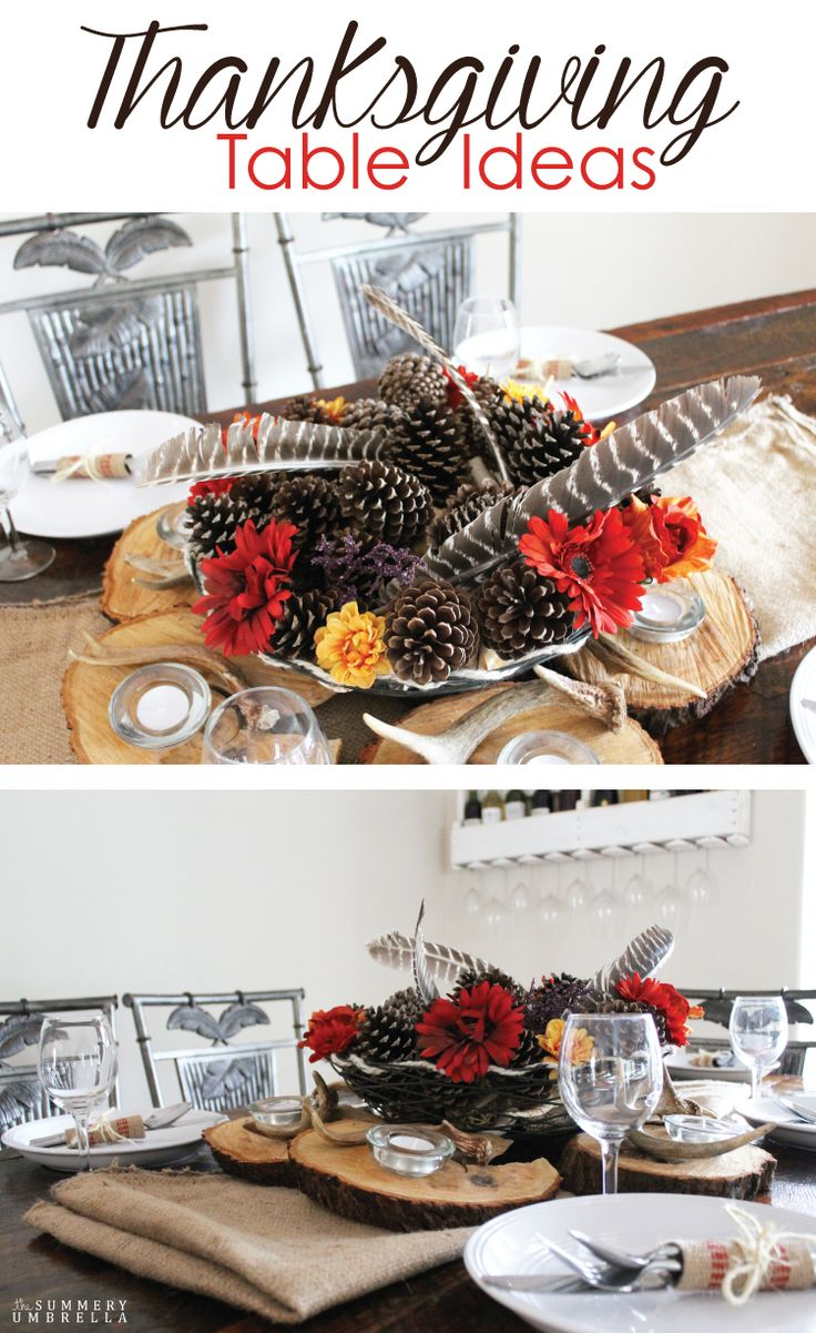 Gorgeous and Rustic Thanksgiving Table Ideas